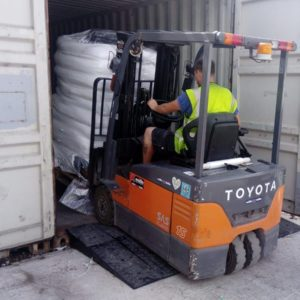 Container drempelhulpen